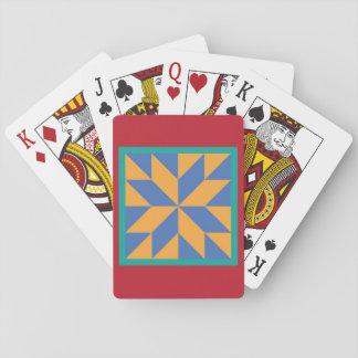 Baralho Cartões de jogo da edredão - a estrela do caçador