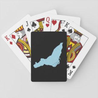 Baralho Cartões de jogo da ilha de Montreal
