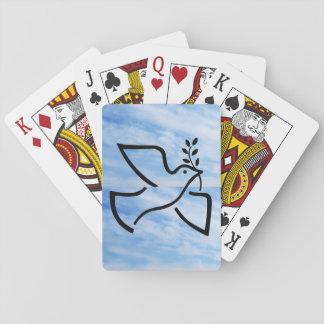 Baralho Cartões de jogo da pomba da paz de Paxspiration
