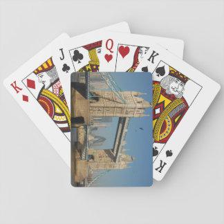Baralho Cartões de jogo da ponte da torre