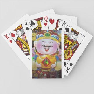 Baralho Cartões de jogo da prosperidade