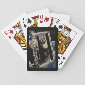 Baralho Cartões de jogo da rebobinação, caras padrão do