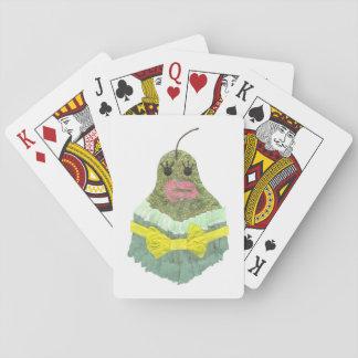 Baralho Cartões de jogo da senhora Pera