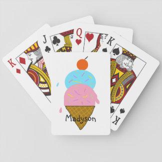 Baralho Cartões de jogo das crianças personalizadas do