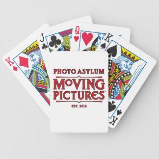 Baralho Cartões de jogo das imagens moventes do asilo da