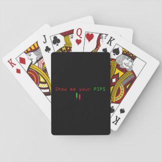 Baralho Cartões de jogo das SEMENTES dos estrangeiros