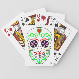 Baralho Cartões de jogo de Diâmetro de los Muertos Crânio