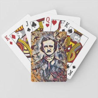 Baralho Cartões de jogo de Edgar Allan Poe