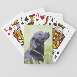 Baralho cartões de jogo de Labrador