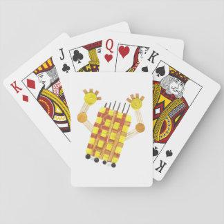 Baralho Cartões de jogo de patinagem do sabão