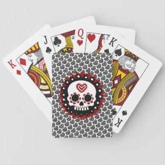 Baralho Cartões de jogo de Skully - clássico