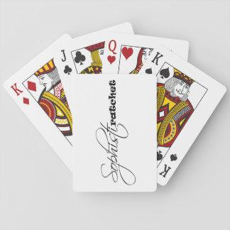 Baralho Cartões de jogo de Sophistiratchet