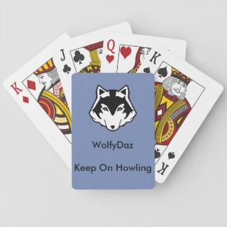 Baralho Cartões de jogo de WolfyDaz