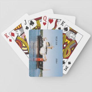 Baralho Cartões de jogo do amieiro de WLB 216
