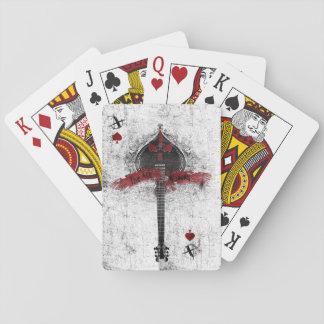 Baralho Cartões de jogo do ás de espada