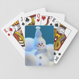 Baralho Cartões de jogo do boneco de neve