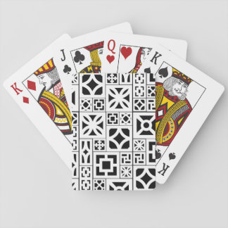 Baralho cartões de jogo do Brisa-bloco