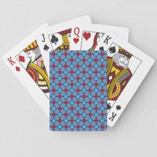 Baralho Cartões de jogo do caleidoscópio do vintage   dos