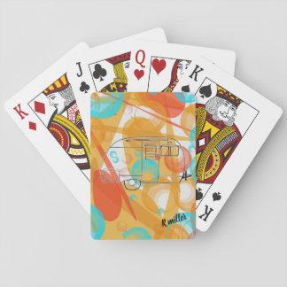 Baralho Cartões de jogo do campista