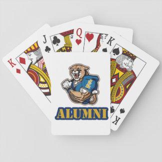 Baralho Cartões de jogo do futebol do puma de JFK