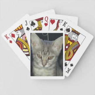 Baralho Cartões de jogo do gatinho