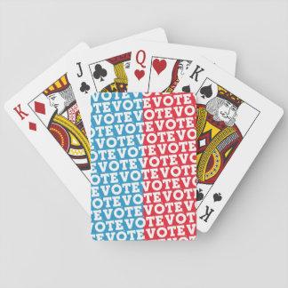"""Baralho Cartões de jogo do """"indecisos"""" VOTO do roteiro do"""