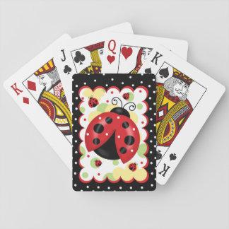 Baralho Cartões de jogo do joaninha