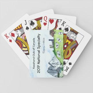 Baralho Cartões de jogo do Keeshond
