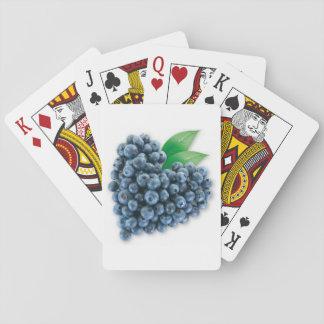Baralho Cartões de jogo do mirtilo