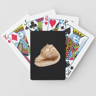 Baralho Cartões de jogo do póquer de Shell do Conch