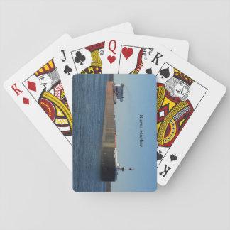 Baralho Cartões de jogo do porto das queimaduras