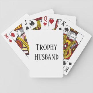 Baralho Cartões de jogo do presente do Natal do marido do