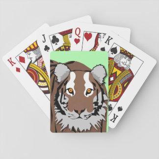 Baralho Cartões de jogo do tigre