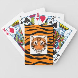 Baralho Cartões de jogo do tigre - vão os tigres
