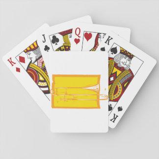 Baralho Cartões de jogo do Trombone