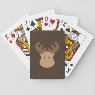 Baralho Cartões de jogo dos alces
