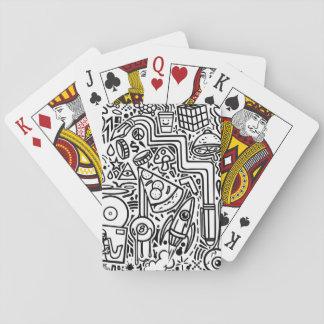 Baralho Cartões de jogo dos Doodles