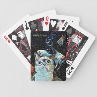 Baralho Cartões de jogo engraçados do póquer do humor do