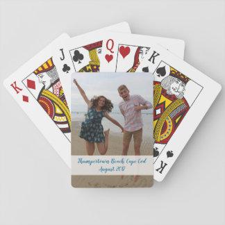 Baralho Cartões de jogo feitos sob encomenda da foto -
