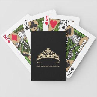 Baralho Cartões de jogo feitos sob encomenda da tiara do