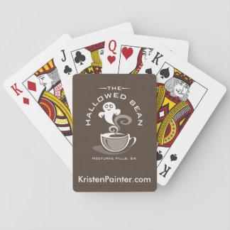 Baralho Cartões de jogo Hallowed do feijão