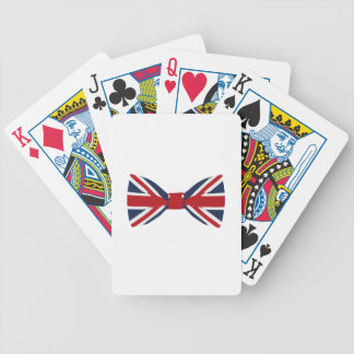 Baralho Cartões de jogo - laço de Union Jack