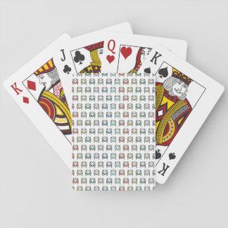 Baralho cartões de jogo legal do campista