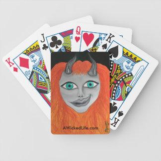 Baralho Cartões de jogo maus da vida