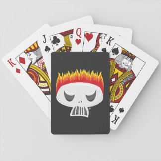 Baralho - Cartões de jogo para fora queimados