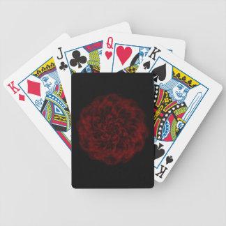 Baralho Cartões de jogo romances de incandescência da rosa
