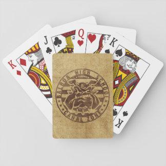 Baralho Cartões de jogo: Segundo grau do balboa (vintage)