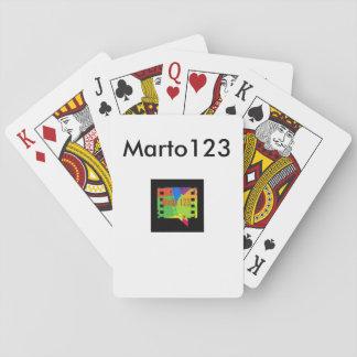 Baralho Cartões Marto123