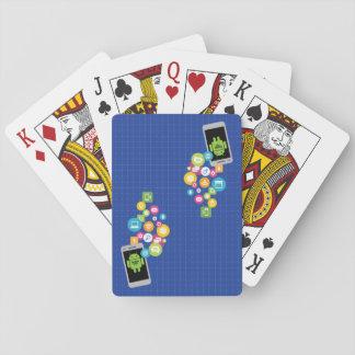 Baralho Cartões móveis de CSP App