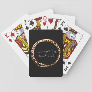 Baralho Cartões psíquicos do póquer